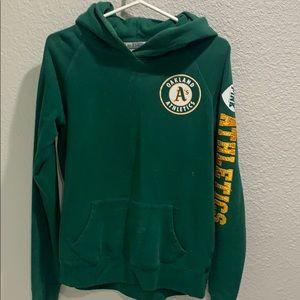 A's sweatshirt